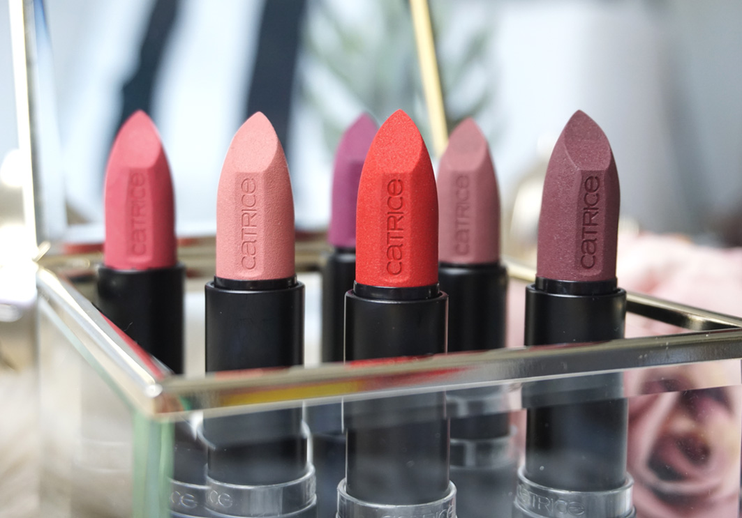 CATRICE Ultimate MATT Lipsticks // Review + Tragebilder